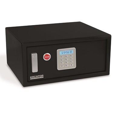 Kreator Elektroniskais seifs ar atslēgu 200x430x350mm