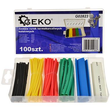 Geko Termocauruļu komplekts 1.5-13mm (100gab.)  G02823