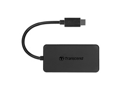Transcend HUB2C USB Typ-C USB 3.1 Gen 1 USB centrmezgli