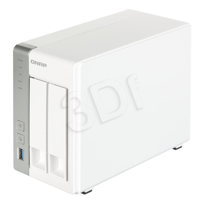 NAS QNAP TS-231P  1GB/1.7GHz 2-Bay 2x 1GbE 3x USB3.0