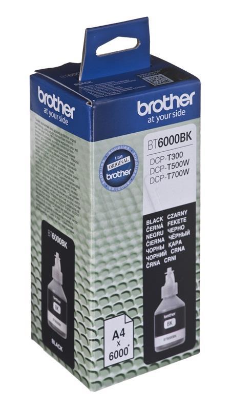 Brother BT6000BK Black ink bottle 6000 pages (DCPT300, DCPT500W) kārtridžs