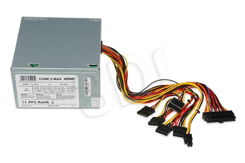 POWER SUPPLY I-BOX CUBE II ATX 400W 12 CM FAN Barošanas bloks, PSU