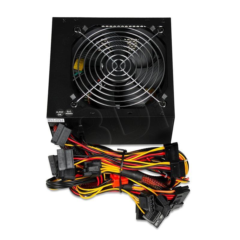 POWER SUPPLY I-BOX CUBE II ATX 600W APFC 12 CM FAN BLACK EDITION Barošanas bloks, PSU