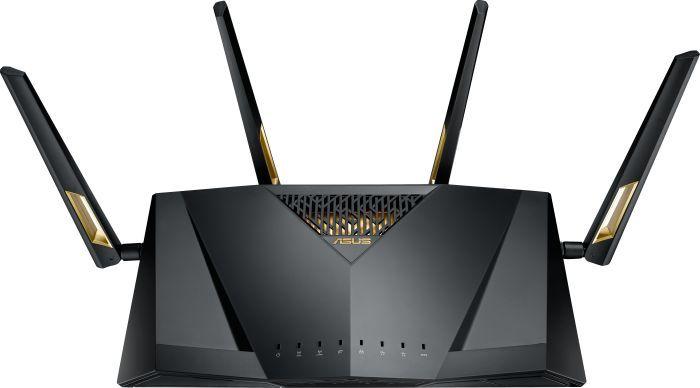 Router RT-AX88U AX6000 1xWAN 8xLAN-1Gb 2xUSB Rūteris