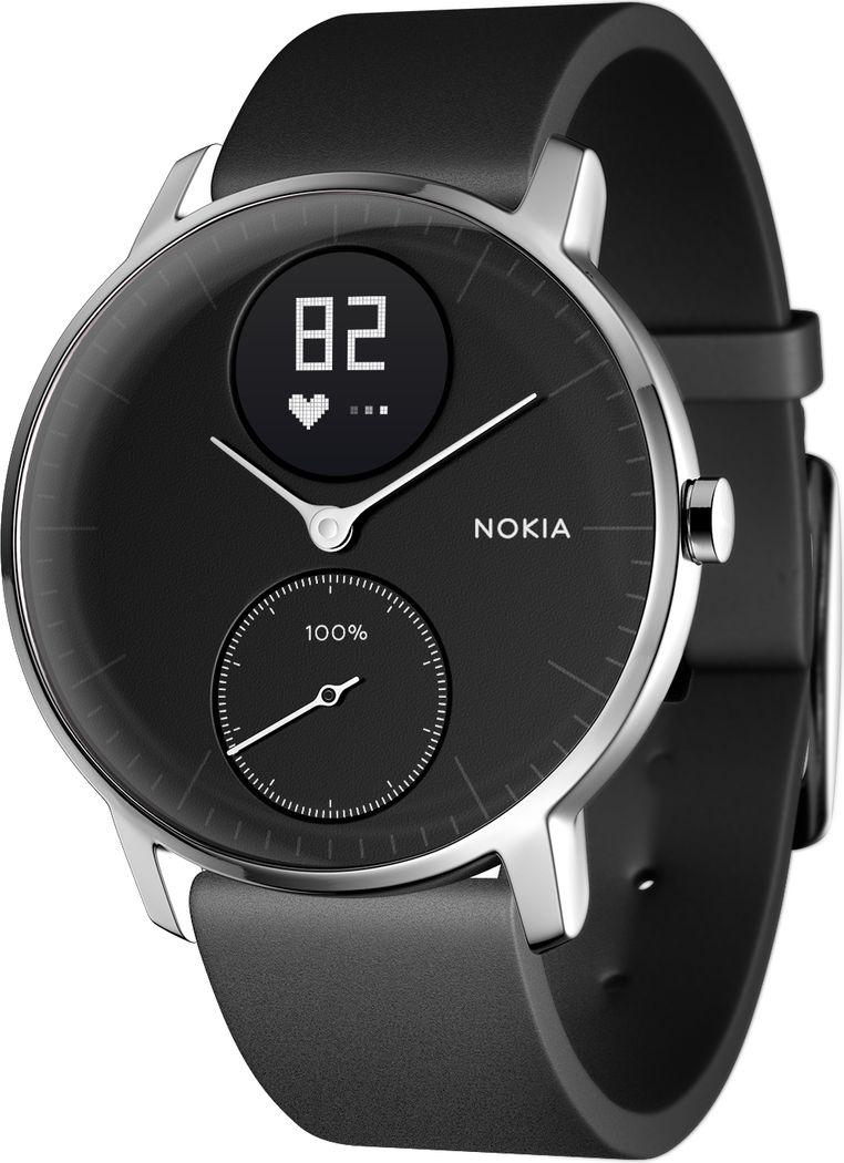 NOKIA Activite Steel HR 36mm Black Viedais pulkstenis, smartwatch