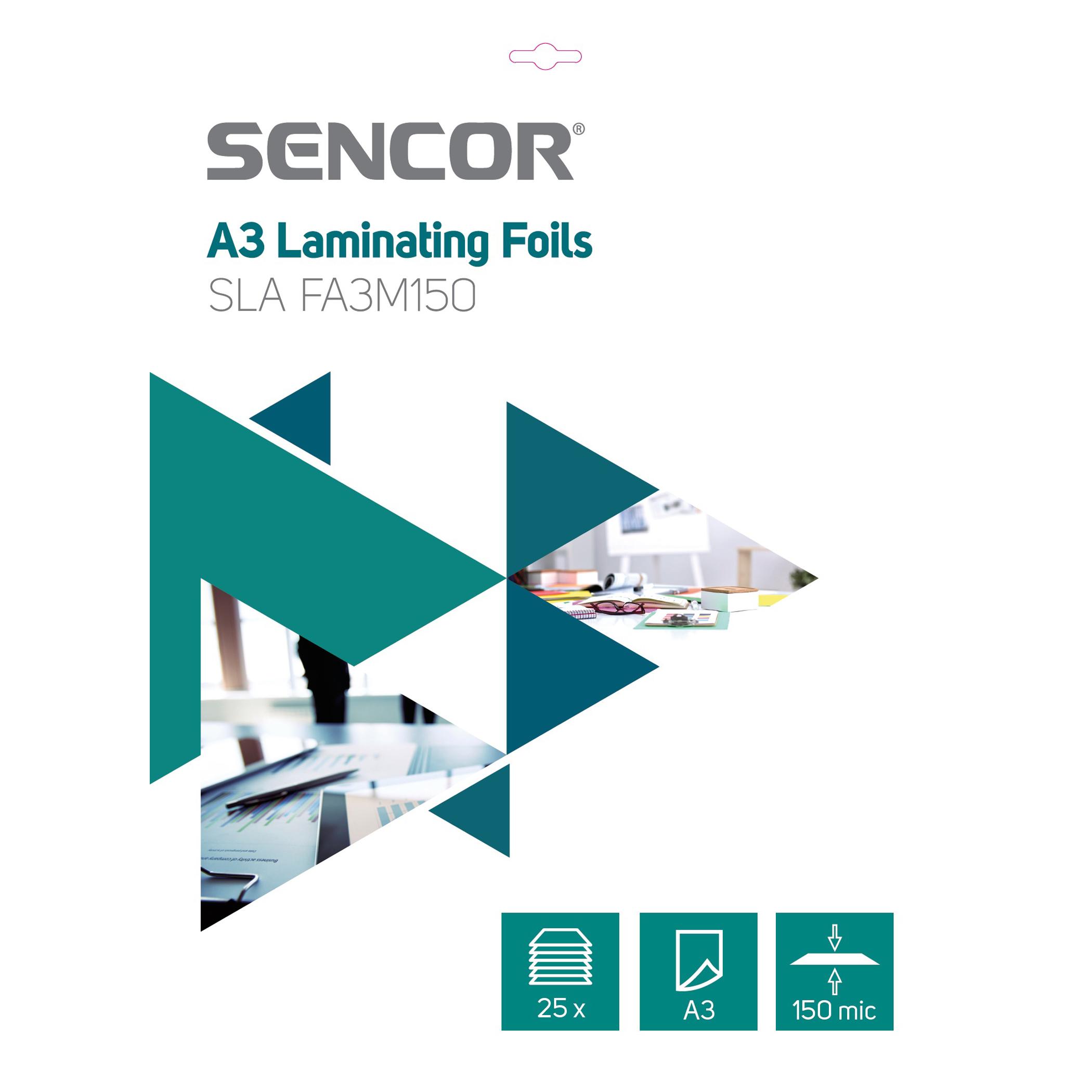 Sencor SLA FA3M150 Laminēšanas plēves A3 laminators