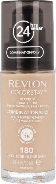 Revlon ColorStay With Pump makeup combination/oily skin180 Sand Beige 30ml tonālais krēms
