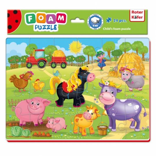 Roter Kafer Baby Puzzle A4 Funny Pictures puzle, puzzle