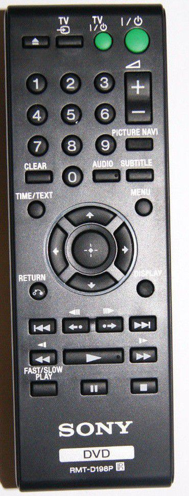 Sony Remote Commander (RMT-D198P) pults