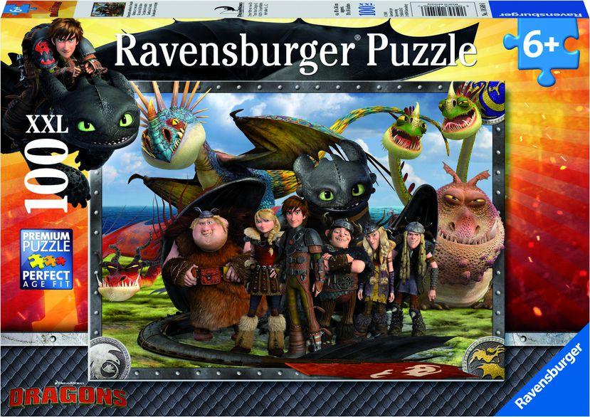 Ravensburger Puzzle 100 - Dragon and friends (105496) puzle, puzzle