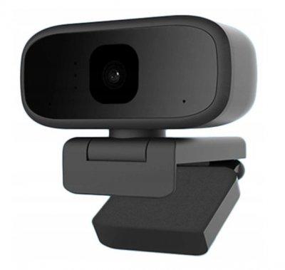 RoGer A17 Web Kamera Full HD 1080P ar Mikrofonu Melna web kamera