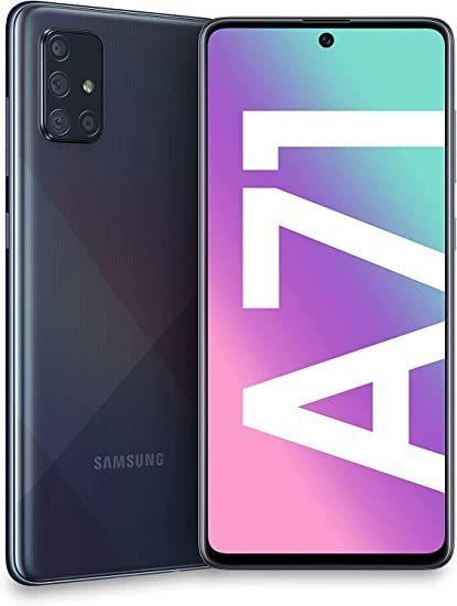 Samsung A715F/DS Galaxy A71 Dual LTE 128GB Prism Crush Black A715F/DS Prism Crush Black Mobilais Telefons