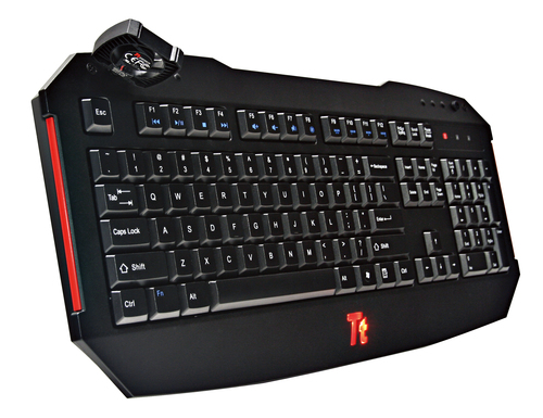 THERMALTAKE CHALLENGER USB2.0 US klaviatūra