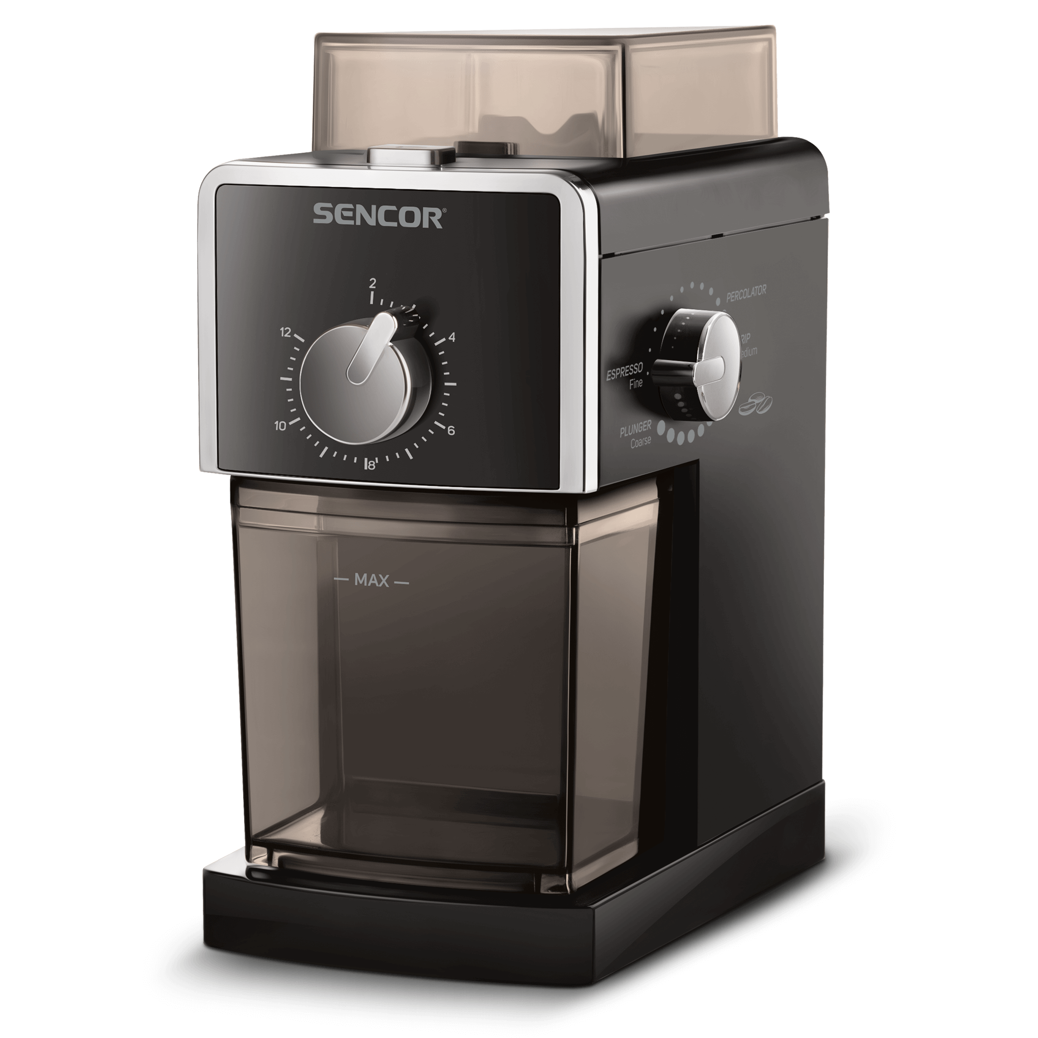 Sencor SCG5050BK Kafijas dzirnaviņas