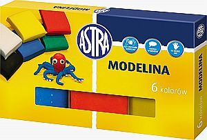 Astra Modelina 6 kolorow ASTRA (83911901) 83911901 materiāli konstruktoriem