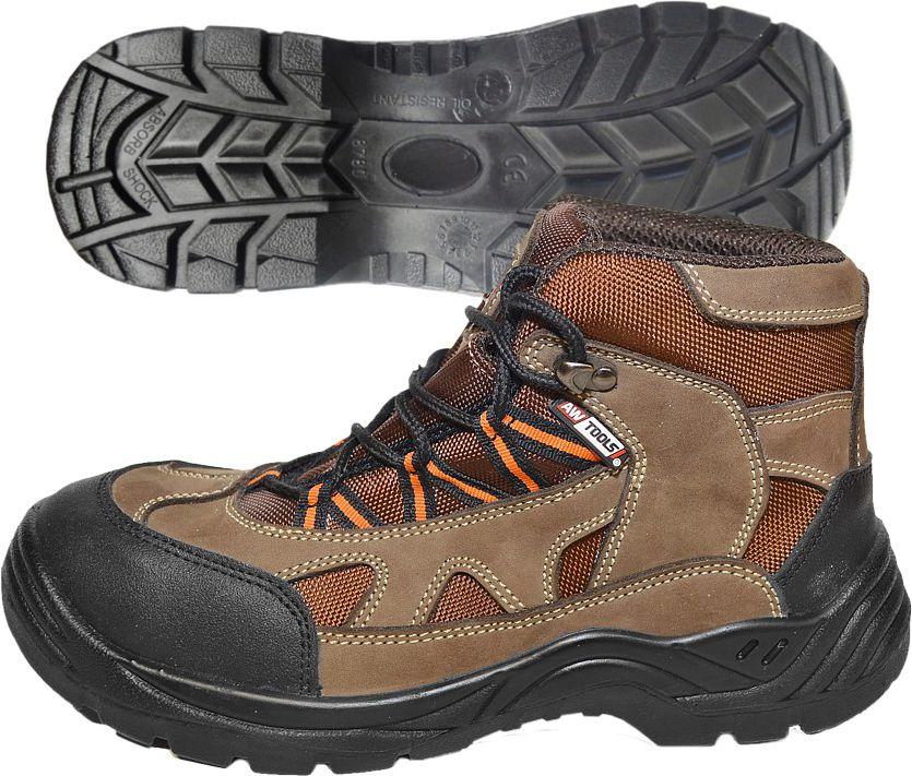 AWTools Buty robocze Merano wysokie 45 (AW00529) AW00529 darba apavi