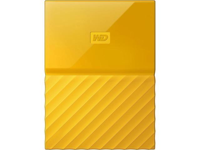 Western Digital My Passport 4 TB - USB 3.0 - yellow Ārējais cietais disks