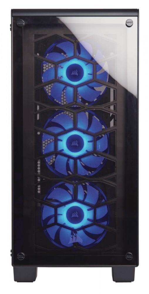 Corsair case Crystal Series 460X RGB   Tempered Glass, Compact ATX Mid-Tower Datora korpuss
