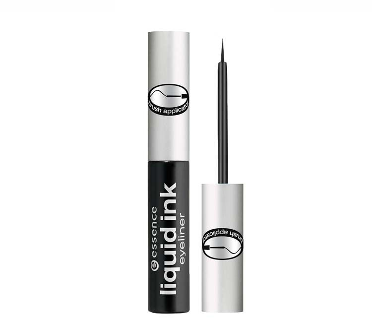 Essence Eyeliner w plyniee Liquid Ink Eyeliner Black 3ml 4250587705454 acu zīmulis