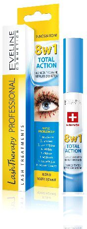 Eveline Lash Therapy Eyelash Conditioner 8in1 Total Action 10ml skropstu tuša