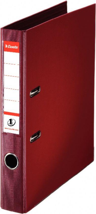 Esselte No.1 Lever Arch File A4 50mm Burgundy (SE00811520)