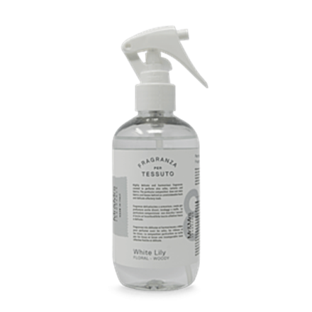 Mr&Mrs Laundy spray TESSUTO JLAUSPR083 White Lily: White Peach, Lily, Amber, Patchouly, 250 ml 8053288291020