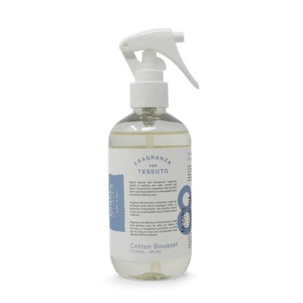 Mr&Mrs Laundy spray TESSUTO JLAUSPR0801 Cotton Bouquet: Bergamot, Eucalyptus, Musk, 250 ml 8053288291006