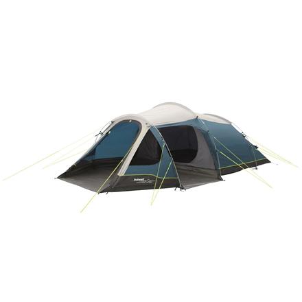 Outwell Earth 4 Tent, 4 persons, Blue 5709388101105 telts Kempingiem, pārgājieniem