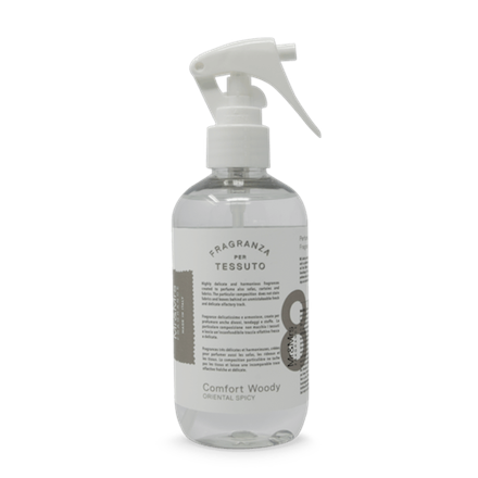 Mr&Mrs Laundy spray TESSUTO JLAUSPR082 Comfort Woody: Bergamot, Orange Blossom, Cedar Wood, 250 ml 8053288291013
