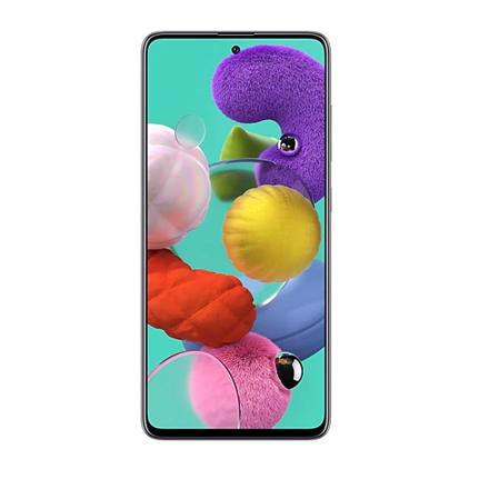 "Samsung Galaxy A51 Black, 6.5 "", Super AMOLED, 1080 x 2400, Exynos, 9611, Internal RAM 4 GB, 128 GB, microSD, Dual SIM, Nano-SIM, 3G, 4G, Ma Mobilais Telefons"