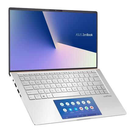 Asus ZenBook UX334FLC-A3184T Icicle Silver, 13.3 , FHD, 1920 x 1080 pixels, Matt, Intel Core i7, i7-10510U, 16 GB, SSD 512 GB, Intel UHD Gra Portatīvais dators