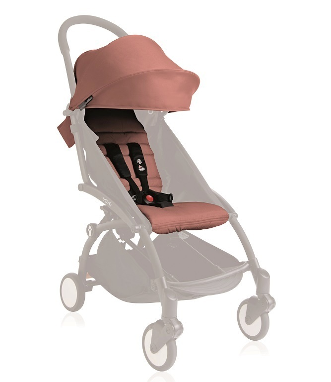 YOYO+ 6+ COLOR PACK - GINGER bērnu ratiņi