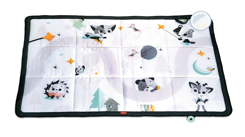 Tiny Love Mat interactive giant Magic Land black and white