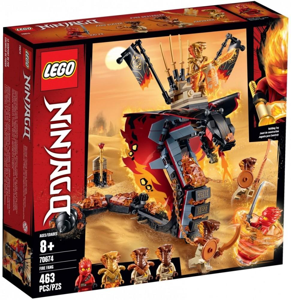LEGO NINJAGO 70674 Fire Fang Snake LEGO konstruktors