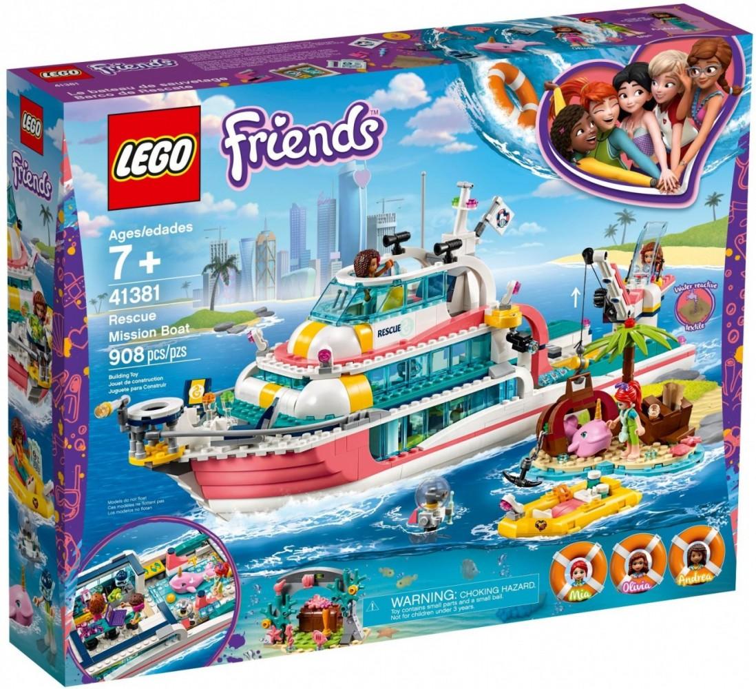 LEGO Friends 41381 Rescue Mission Boat LEGO konstruktors