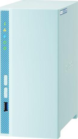 QNAP TS-230 NAS/storage server RTD1296 Ethernet LAN Tower Blue