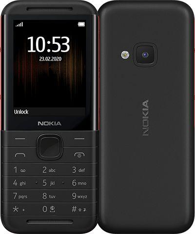 Telefon komorkowy Nokia 5310 (2020) Dual SIM Czarno-czerwony 63185-uniw Mobilais Telefons