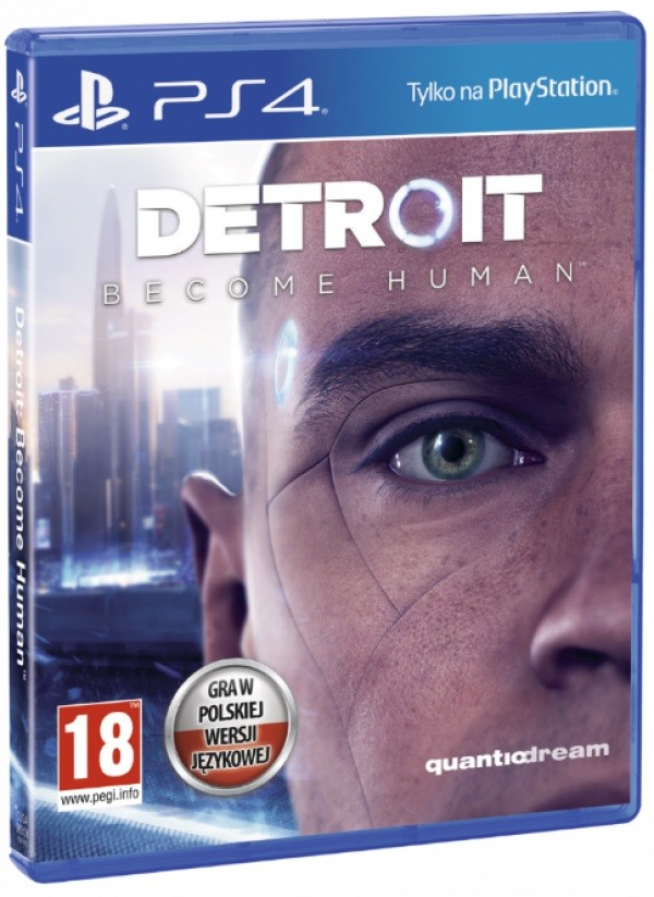 Game Playstation 4 (PS4) Detroit: Become Human (BOX; Blu-ray; from 18 years old)