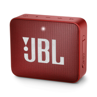 JBL Go 2, compact portable speaker with battery, IPX7 waterproof, Red pārnēsājamais skaļrunis