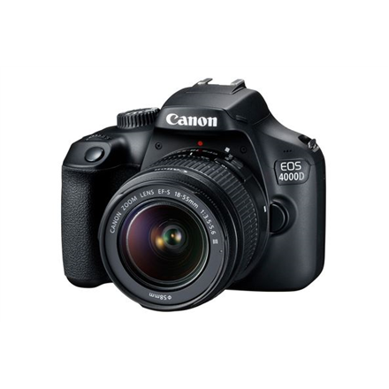 Canon EOS 4000D Kit + EF-S 18-55 DC III Spoguļkamera SLR