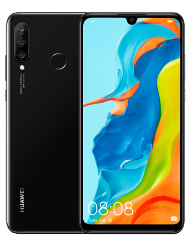 Huawei P30 lite New Edition Black Mobilais Telefons