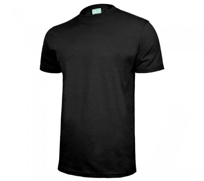 T-krekls kokvilnas melns XL