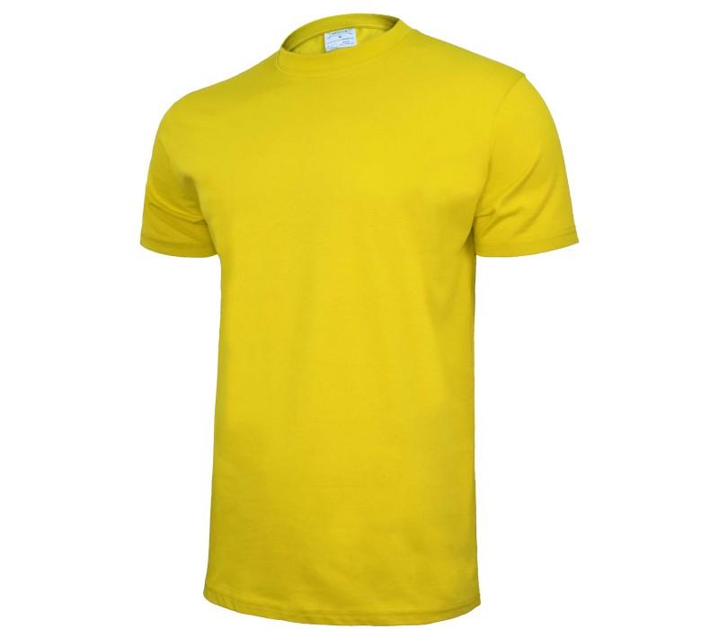T-krekls kokvilnas dzeltens M