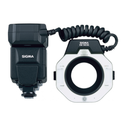Sigma Macro Flash EM-140 DG for Sony zibspuldze