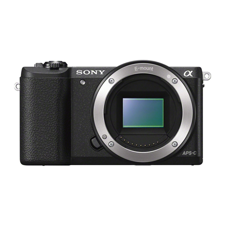 Sony A5100 Body Black 24.3MP Spoguļkamera SLR
