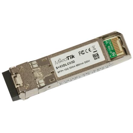 MikroTik 10G SFP+ transceiver with a LC connector S+85DLC03D tīkla iekārta