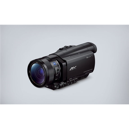 Sony FDR-AX100E 3840 x 2160 pixels, Digital zoom 160 x, Black, LCD, Image stabilizer, BIONZ X, Optical zoom 12 x, 8.89