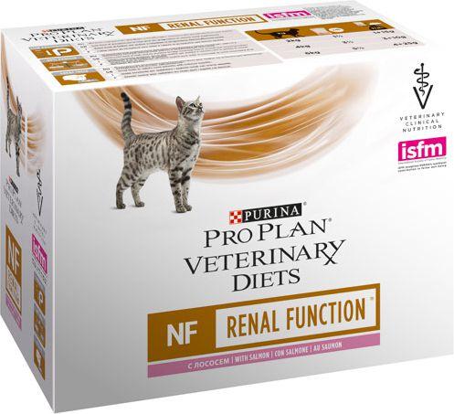 Purina PPVD FELINE NF RENAL CAT LOSOS 10X85G kaķu barība