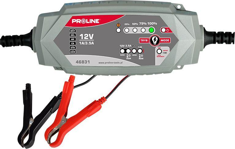 Proline Prostownik konwertorowy do akumulatorow 12V 4A (46831) 46831 auto akumulatoru lādētājs