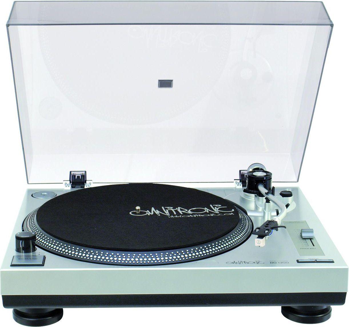 Omnitronic BD-1350 silver radio, radiopulksteņi